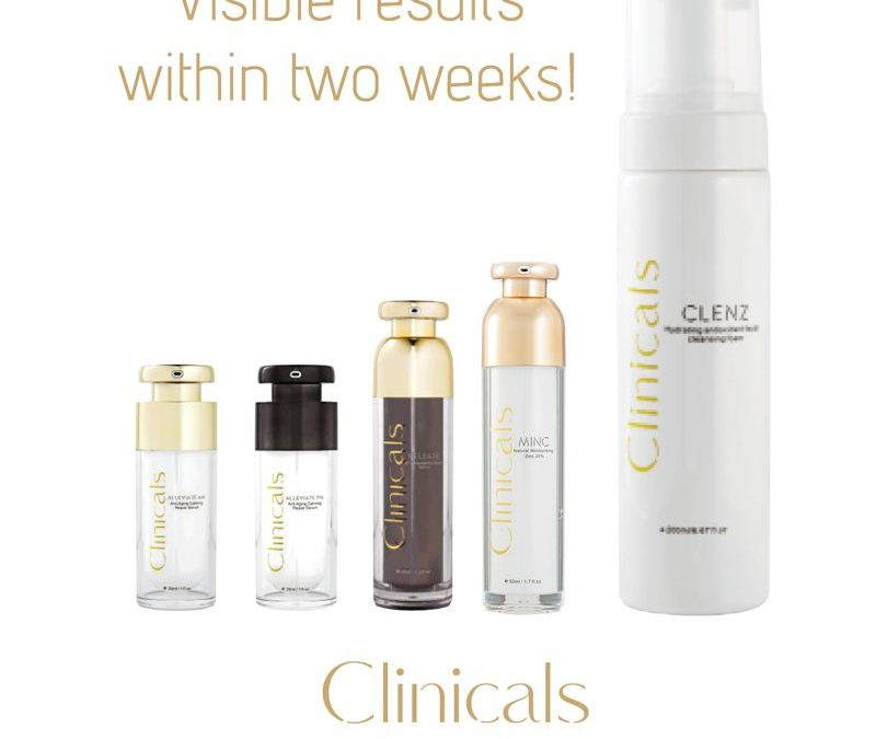 Clinicals – An all in one, multi-aspect approach to Skincare Products